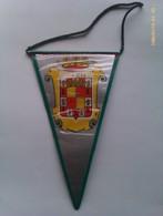 Banderín De Jaén. Andalucía. España. Años '60-'70 - Escudos En Tela