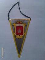 Banderín De Soria. Castilla Y León. España. Años '60-'70 - Escudos En Tela