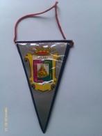 Banderín De Málaga. Andalucía. España. Años '60-'70 - Escudos En Tela