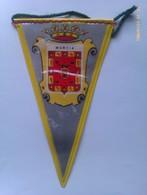 Banderín De Murcia. España. Años '60-'70 - Escudos En Tela