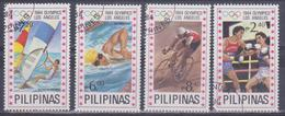 Filippine - Olimpiadi A Los Angeles 1984 - Francobolli