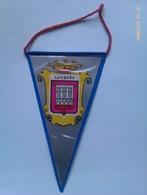 Banderín De Logroño. La Rioja. España. Años '60-'70 - Escudos En Tela