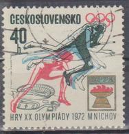 Cecoslovacchia - XX Olimpiadi 1972 - Francobolli