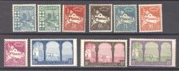 Algérie  :  Yv  78-85  * - Unused Stamps