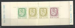Finlande 1983 Carnet N°C790 III Neuf N°1909-10-1983 - Finland