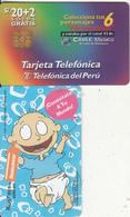 PERU - Nickelodeon/Rugrats 2(Tommy), Telefonica Telecard, Tirage 25000, 09/97, Used - Peru
