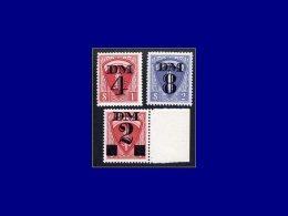 FRANCE Fiscaux Yvert:Permis Militaire TR 19/20 + 23, Surchargés      - Qualité: XX . Cote: 90 - Revenue Stamps