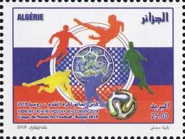 Algérie 2018 - 1802 Coupe Du Monde De Football Russie 2018 - Algeria (1962-...)