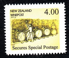 New Zealand Wine Post- Secures Special Postage - Unclassified