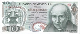 México 10 Pesos 15-5-1975 Pick 63.h.6 UNC - México