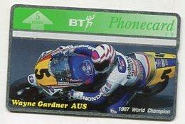 TK32670 GREAT BRITAIN - L&G Motor Sport - Wayne Gardner AUS 1997 World Champion MINT! - Sport
