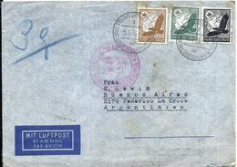 92973 GERMANY FRANKFURT COVER YEAR 1938 CIRCULATED TO ARGENTINA NO POSTAL POSTCARD - Non Classés