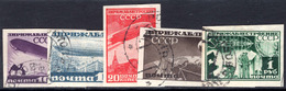 Russia 1930 Airship Construction Fund Imperf Set Fine Used. - 1923-1991 URSS
