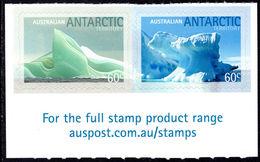 Australian Antarctic Territory 2011 Iceberg Self-adhesive Part Set Unmounted Mint. - Australian Antarctic Territory (AAT)