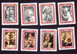 Uganda, Scott #1164-1171, Mint Hinged, Christmas, Issued 1993 - Uganda (1962-...)