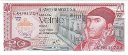 México 20 Pesos 8-7-1977 Pick 64.d.3 UNC - México