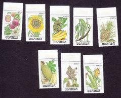 Uganda, Scott #1201-1208, Mint Never Hinged, Fruits, Issued 1993 - Uganda (1962-...)