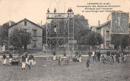 77 . N° 46063 . Champs . Compagnie Des Sapeurs Pompiers - Other Municipalities