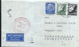 92976 GERMANY HAMBURG COVER YEAR 1939 CIRCULATED TO ARGENTINA NO POSTAL POSTCARD - Non Classés