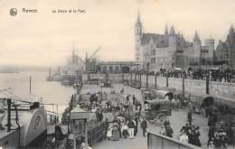 ANVERS - Le Steen Et Le Port - Antwerpen