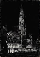 CPM - BRUXELLES - Illumination - Hôtel De Ville - Bruxelles La Nuit