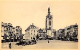 KORTRIJK - Groote Markt En St. Maartenskerk - Kortrijk