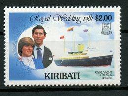 Kiribati 1981 $2.00  Royal Wedding Issue   #378 - Kiribati (1979-...)