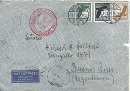 92977 GERMANY BERLIN COVER YEAR 1938 CIRCULATED TO ARGENTINA NO POSTAL POSTCARD - Non Classés