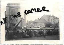 54 BACCARAT   PHOTOS ALLEMANDES 1940 CANONS FRANCAIS - Baccarat
