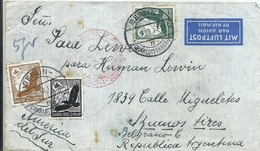 92979 GERMANY BERLIN COVER YEAR 1938 CIRCULATED TO ARGENTINA NO POSTAL POSTCARD - Non Classés