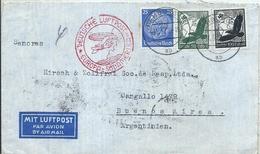 92981 GERMANY HAMBURG COVER YEAR 1938 CIRCULATED TO ARGENTINA NO POSTAL POSTCARD - Non Classés