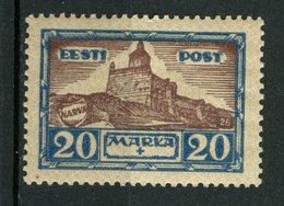 Estonia 1927 20 + 20m  Narva Fortress Issue   #B18 - Estonia
