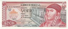 México 20 Pesos 8-7-1977 Pick 64.d.4 UNC - México