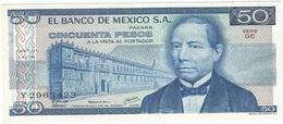 México 50 Pesos 5-7-1978 Pick 67.a GE UNC - México