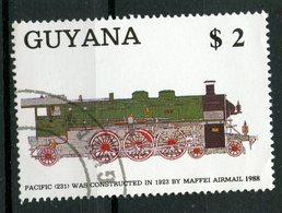 Guyana 1989 $2.00  Locomotive Issue  #2006d - Guyana (1966-...)