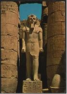 Ägypten  -  Luxor  -  Ramses II  -  Temple / Statue  -  Ansichtskarte Ca. 1979    (8532) - Luxor