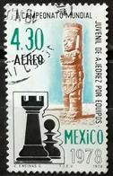 MÉXICO 1978 Airmail - World Youth Team Chess Championship, Mexico City. USADO - USED. - Mexique