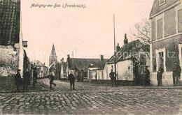 12662381 Aubigny-au-Bac Ortspartei Mit Soldaten Aubigny-au-Bac - Frankreich