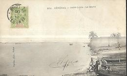 Sénégal Saint Louis Le Fleuve CPA 1900 - Senegal