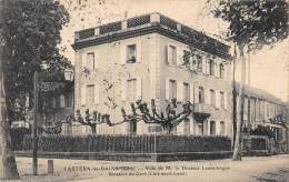 GERS  32   CASTERA LES BAINS  VILLA DE M. LE DOCTEUR LANNELONGUE, SENATEUR DU GERS ( COTE NORD OUEST ) - Castera