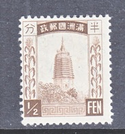 MANCHUKUO  23  * - 1932-45 Manchuria (Manchukuo)