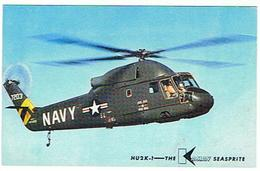HELICOPTERES  MANUFACTURED BY HE KAMAN AIRCRAFT CORPORATION  BLOOMFIELD CONNECTICUT  ****        A SAISIR **** - Elicotteri