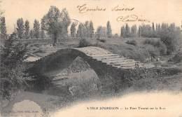 GERS  32  L'ISLE JOURDAIN  LE PONT TOURNE SUR LA SAVE - Other Municipalities