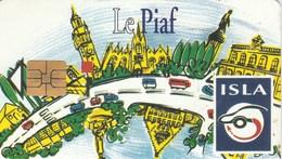 CARTE DE STATIONNEMENT  LE PIAF   ISLA   LES COULEURS DU STATINNEMENT - Frankreich