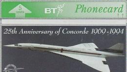 TELECARTE ETRANGERE     AVEC  CONCORDE - Airplanes
