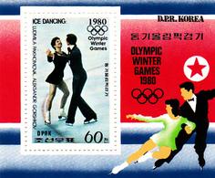 Korea Democratic People's Republic Scott 1897 1979 Winter Olympic Games, Souvenir Sheet,mint Never Hinged - Korea, North