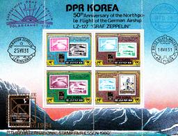 Korea Democratic People's Republic Scott 1990 1980 Essen International Stamp Fair, Souvenir Sheet,mint Never Hinged - Korea, North