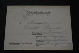 Lettre De Prisonnier De Guerre STALAG XA 53 Kriegsgefangenenpost 1943 - Documents