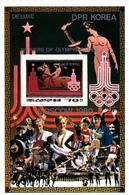 Korea Democratic People's Republic Scott 1999 1980 Moscow Olympic Games,souvenir Sheet,mint Never Hinged - Korea, North