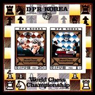 Korea Democratic People's Republic Scott 2010 1980 World Chess Championship, Souvenir Sheet,mint Never Hinged - Korea, North